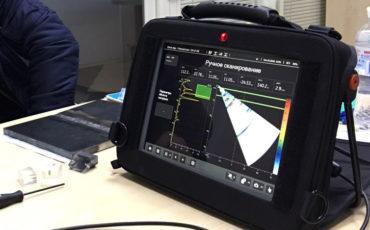 Нова послуга – виявлення корозійних пошкоджень з використанням ультразвукового дефектоскопа нового покоління Mentor UT 32/32 на фазованих решітках